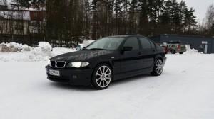 BMW e46 sedan tuning