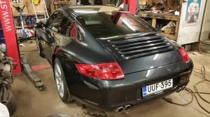 Porsche kiillotettuna