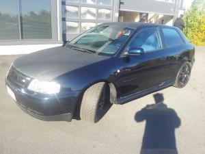 Audi A3 hiilikuituinen konepeitto