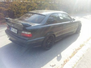 BMW e36 coupe tuning