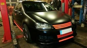 VW Golf V teippaus